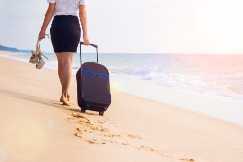 海岸を歩く