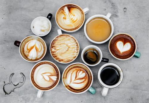 コーヒー たくさん