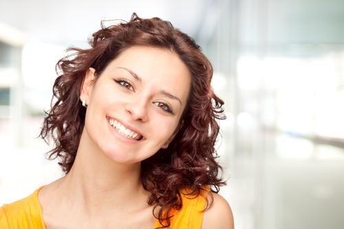 笑顔 女性