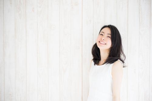 笑う 女性