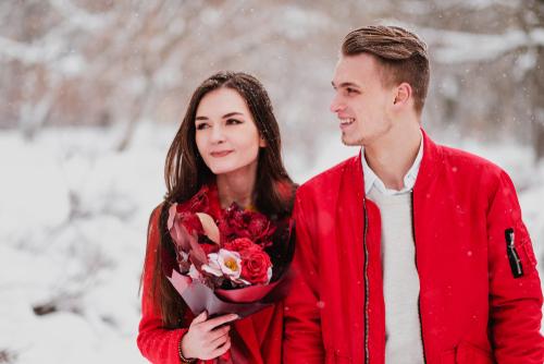 バレンタイン 花束