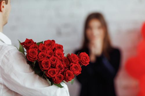 薔薇 花束