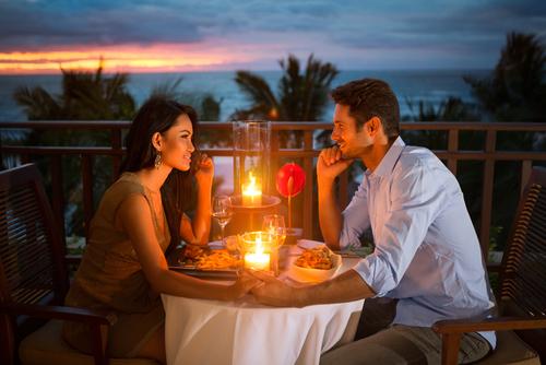 ロマンチックな夜